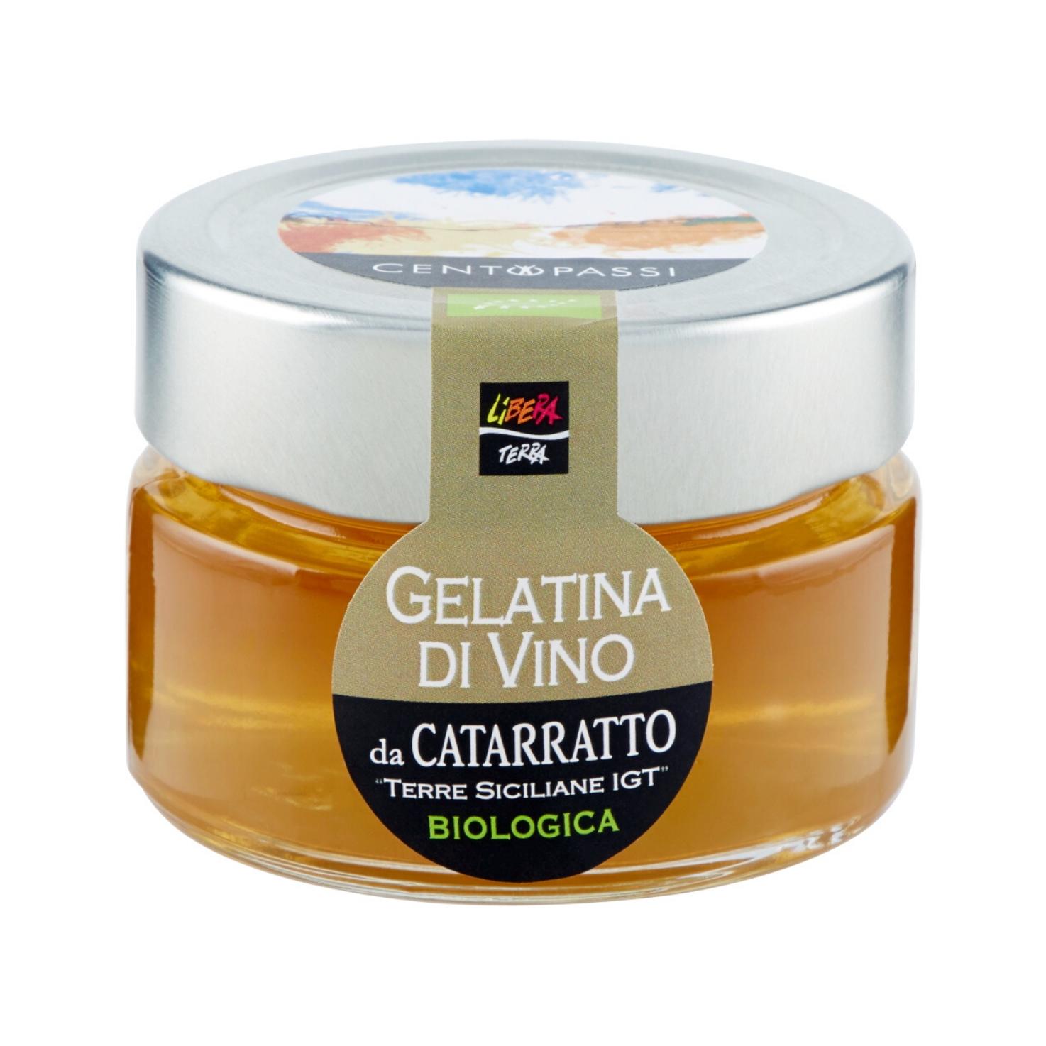 Gelatina di Vino Biologica da Catarratto IGT 100g