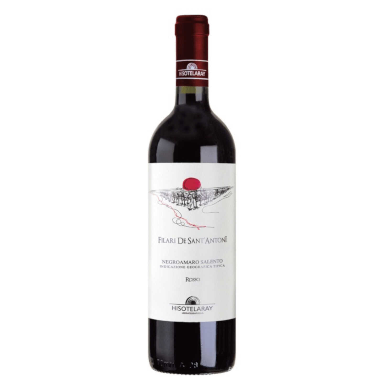 Negroamaro Rosso – Filari De Sant'Antonii – Salento IGT 2019 75cl