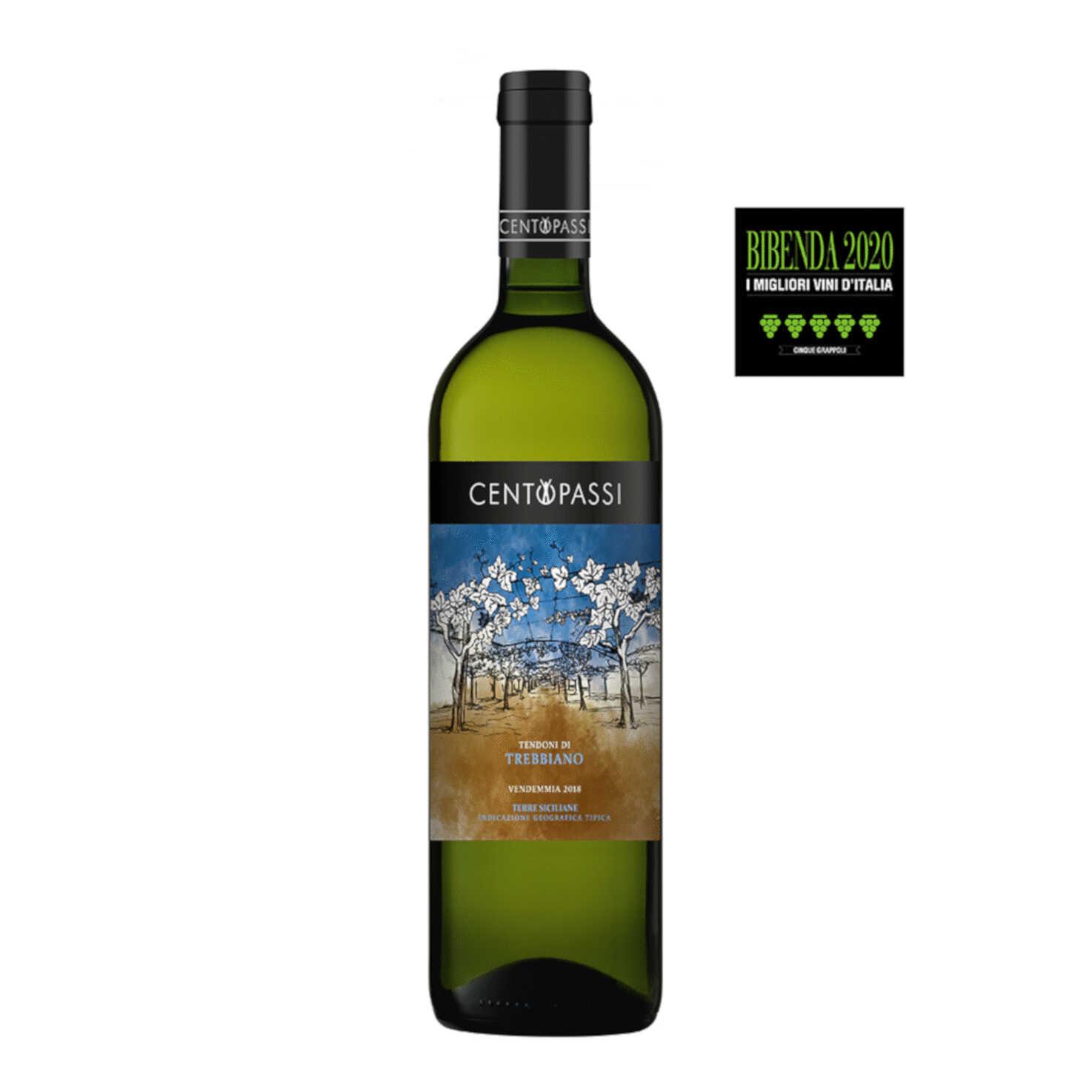 Trebbiano – Tendoni di Trebbiano – IGT Terre Siciliane 2018 75cl