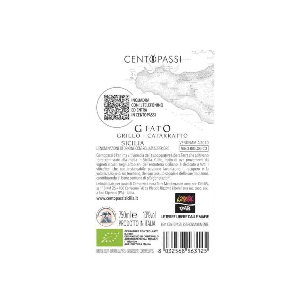 Giato Grillo-Catarratto – DOC Sicilia Superiore 2020 75cl